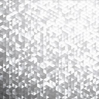 Motif de mosaïque de paillettes lamina gris argenté.