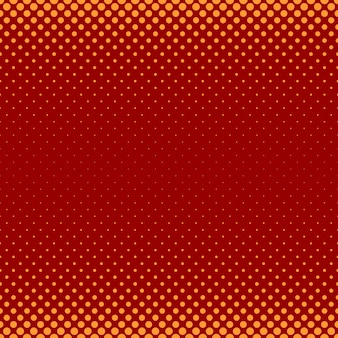Motif de motif de points en demi-teintes abstrait en couleur - illustration vectorielle de cercles de différentes tailles
