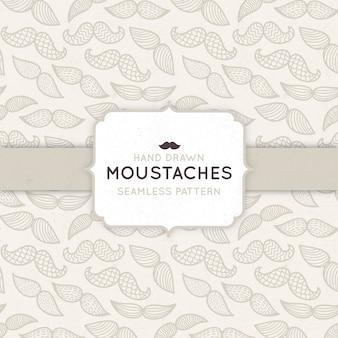 Motif à moustaches pour movember