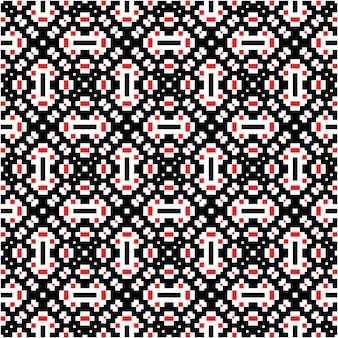 Motif mozaic de luxe avec fond de style motif