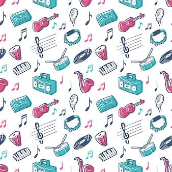 Motif de musique graphique