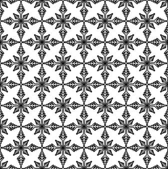 Motif noir et blanc