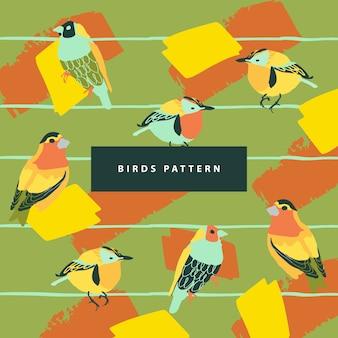 Motif des oiseaux et résumé