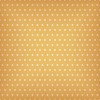 Motif orange transparent avec illustration de points