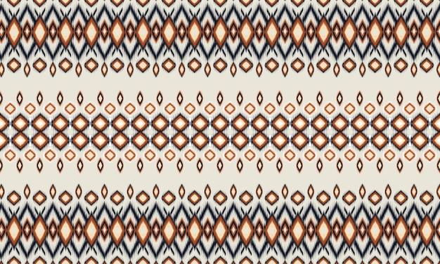 Motif oriental ethnique géométrique traditionnel, tapis, papier peint, vêtements, emballage, batik, tissu