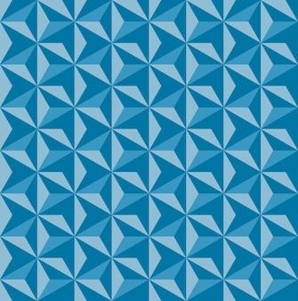 Motif d'ornement asanoha sans couture texture de roche impression de formes triangulaires répétées