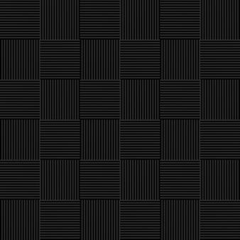 Motif en osier sans couture noir