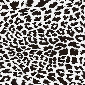 Motif peau de léopard sans couture