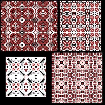 Motif de pixels hongrois