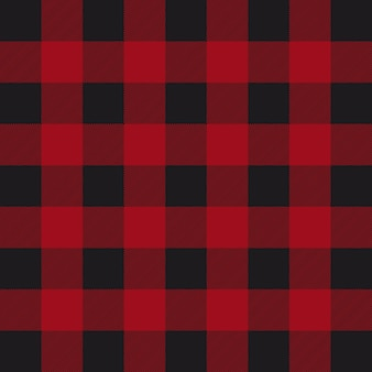Motif de plaid bûcheron