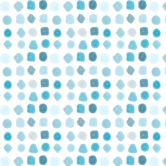 Motif pointillé aquarelle