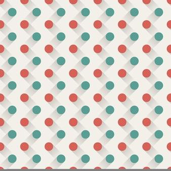 Motif de points, abstrait géométrique. illustration de style créatif et élégant