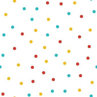 Motif de points aléatoires, fond de formes abstraites. illustration simple géométrique. style créatif et luxueux