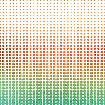 Motif de points de dégradé, abstrait géométrique. illustration de style luxueux et élégant