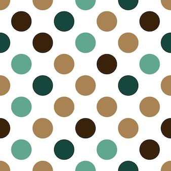 Motif de points. fond simple géométrique. illustration de style créatif et élégant