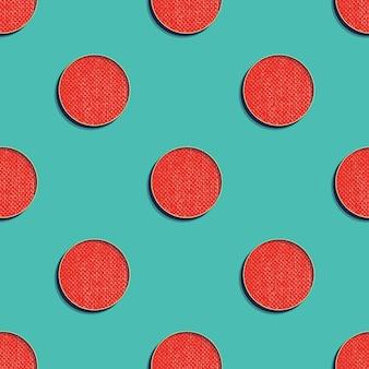 Motif de points rétro, arrière-plan géométrique abstrait dans le style des années 80 et 90. illustration simple géométrique