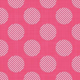 Motif de points sur textile, abstrait géométrique. illustration de style créatif et de luxe