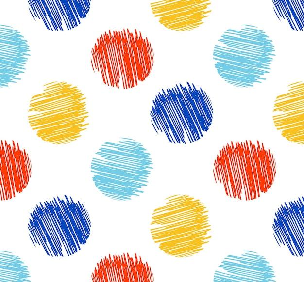 Motif de points avec texture grunge, fond simple géométrique. illustration de style élégant et luxueux