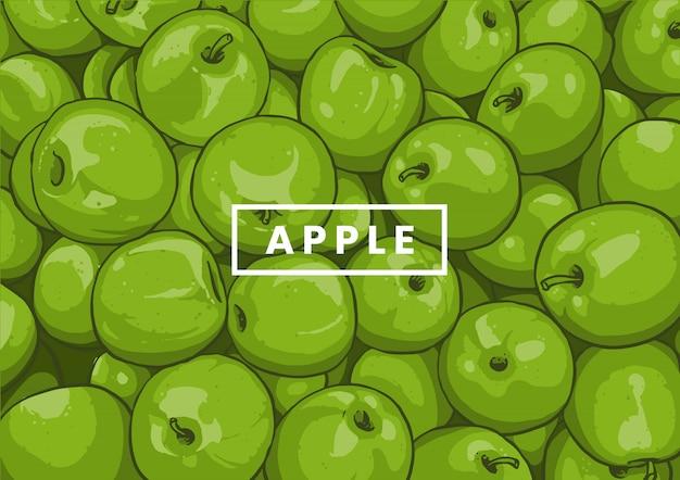 Motif de pomme