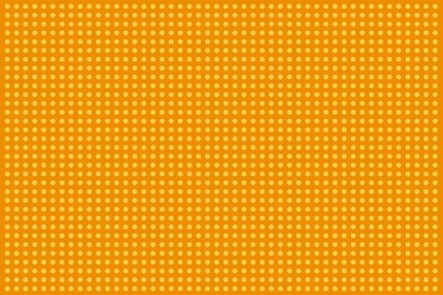 Motif pop art en demi-teinte. fond jaune comique. illustration vectorielle.