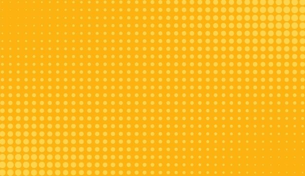 Motif pop art en demi-teinte. fond orange comique. illustration vectorielle.