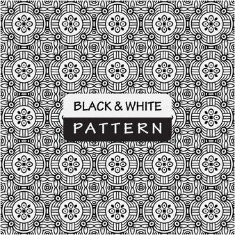 Motif premium avec couleur noir et blanc