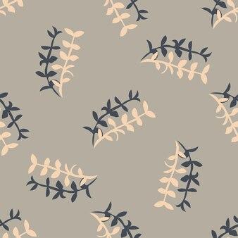 Motif de printemps floral sans couture de vecteur élégant, belle texture d'illustration pour l'impression