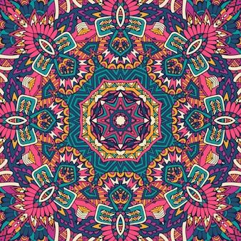 Motif psychédélique géométrique