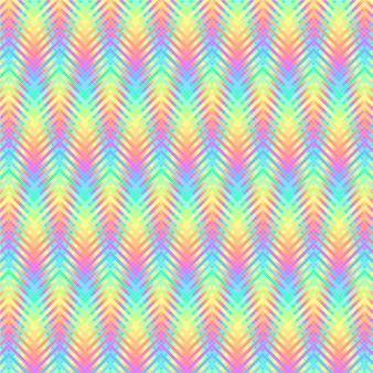 Motif psychédélique à rayures ondulées
