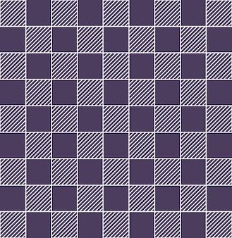 Motif à rayures carrées. fond simple géométrique. illustration de style créatif et élégant