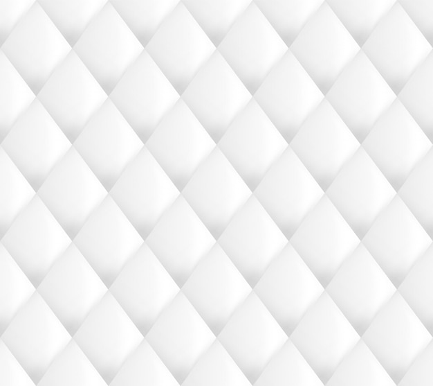 Motif de rembourrage blanc sans couture