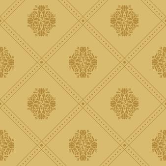 Motif royal vintage. fond de luxe