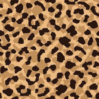 Motif sans couture de peau de léopard