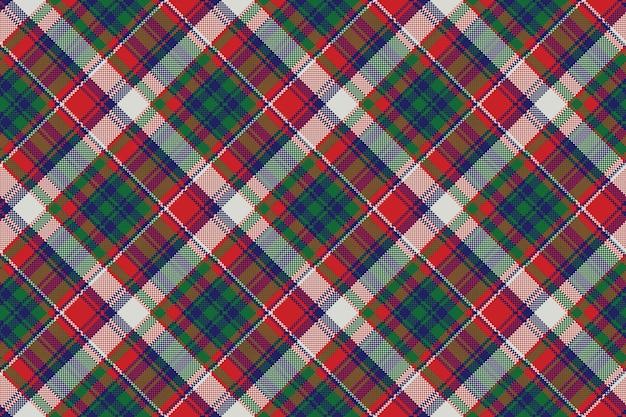 Motif sans couture de plaid pixel cocher celtique