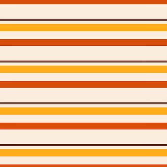Le motif sans couture et les rayures de couleur orange jaune et marron sont idéales pour la décoration murale