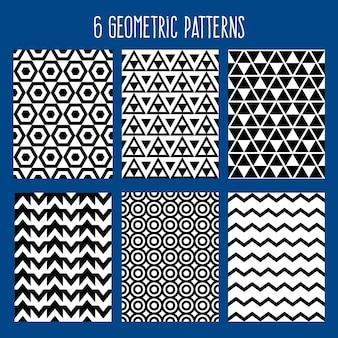 Motif sans soudure abstrait fond géométrique