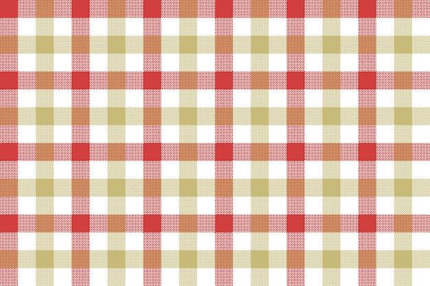 Motif sans soudure de fond tissu cocher beige rouge texture