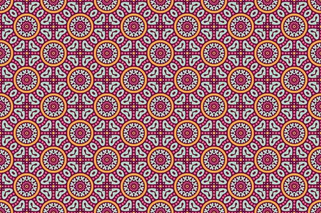 Motif sans soudure géométrique, élément de cercle