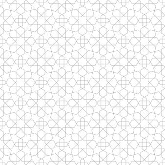 Motif sans soudure géométrique étoile
