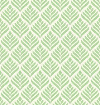Motif sans soudure géométrique floral