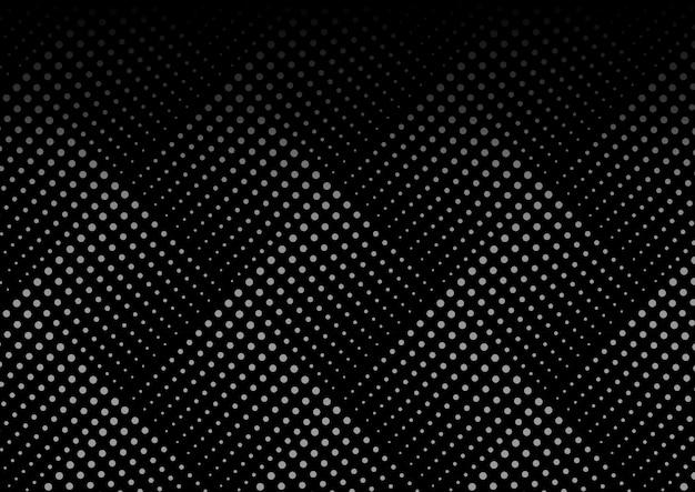 Motif sans soudure géométrique en pointillé