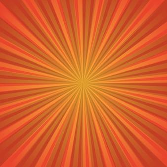 Motif sunburst