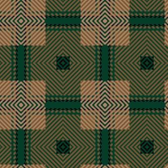 Motif tartan sans soudure de vecteur. fond de noël vintage. plaid tartan sans couture. conception géométrique de mode. modèle abstrait de noël. texture tissée écossaise. modèle sans couture de tartan classique.