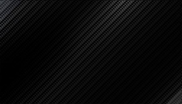Motif de texture en fibre de carbone noir avec des nuances claires