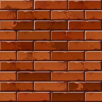 Motif de texture de fond de mur de brique
