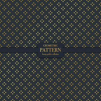 Motif de texture points d'or luxe géométrique