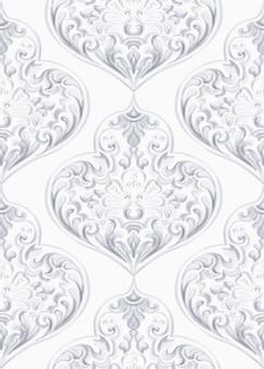 Motif de texture rococo