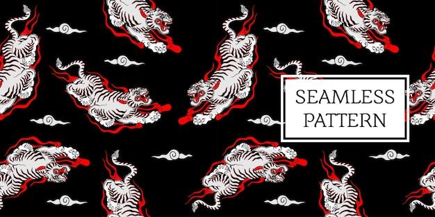 Motif tigre balinais