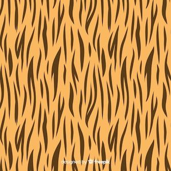 Motif tigre rayé