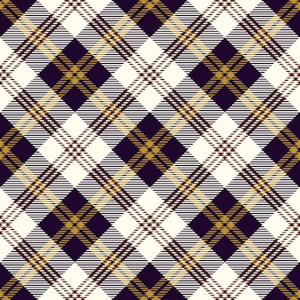 Motif de tissu à carreaux écossais violet élégant vintage
